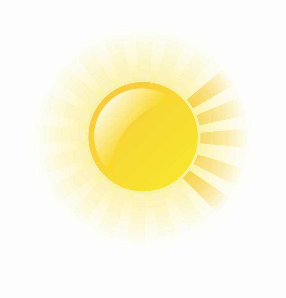 Animated sun rays clipart