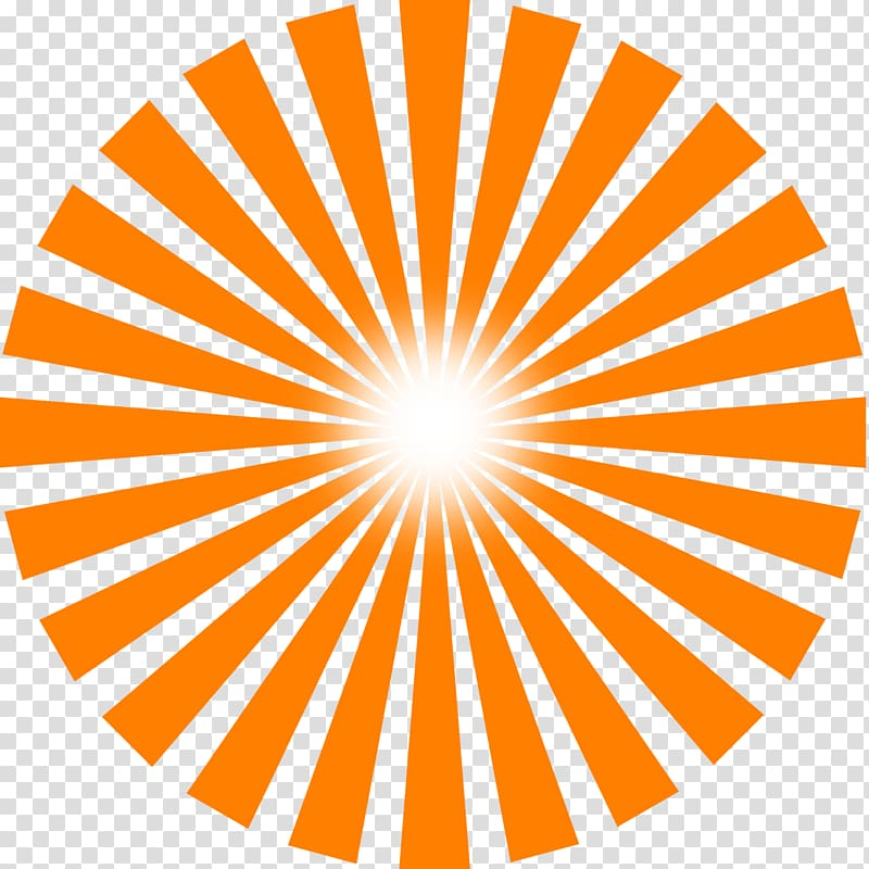 Animated sun rays clipart download Orange sun logo, Sunlight Ray , Sun Rays transparent background PNG ... download