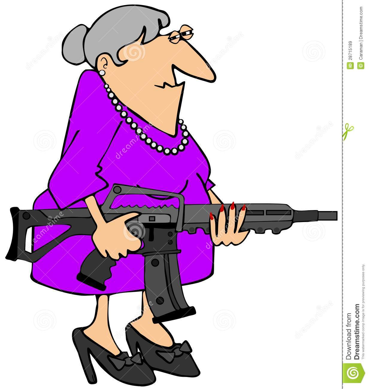 Animated super grandma clipart clipart freeuse iCLIPART - Clipart Cartoon of a Grandma Hitting a Computer with ... clipart freeuse