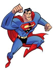 Animated superman clipart. Clip art animation panda