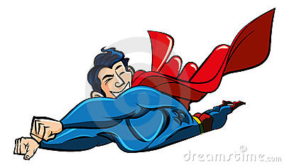 Stock photos images pictures. Animated superman clipart