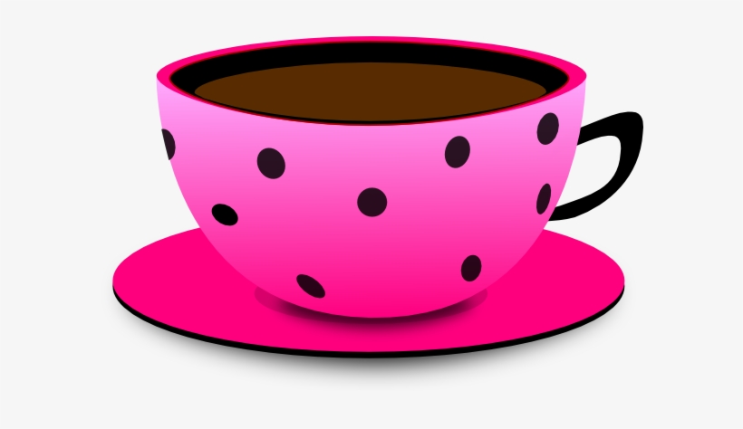 Animated tea cup and saucer clipart transparent background stock Pink Tea Cup Clipart - Cartoon Pictures Of Cup Transparent PNG ... stock
