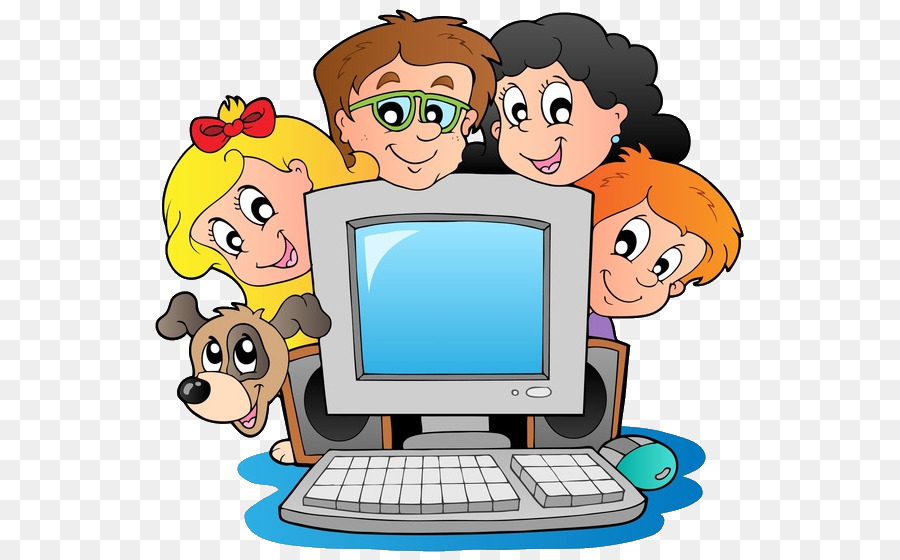 Animated technology clipart clipart library library Child Cartoon png download - 600*559 - Free Transparent Computer png ... clipart library library