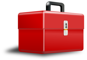 Animated toolbox clipart svg freeuse download Red Metal Tool Box Clip Art at Clker.com - vector clip art online ... svg freeuse download
