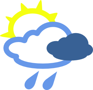 Animated weather clipart