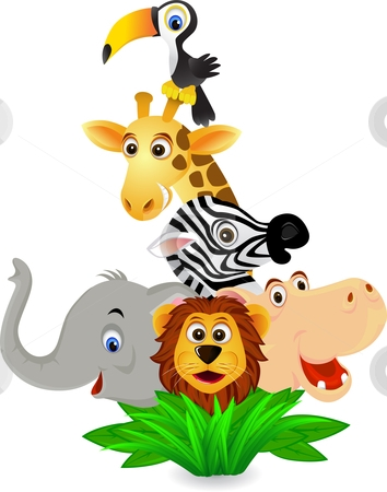 Free clipart of jungle animals. Images cartoon download best