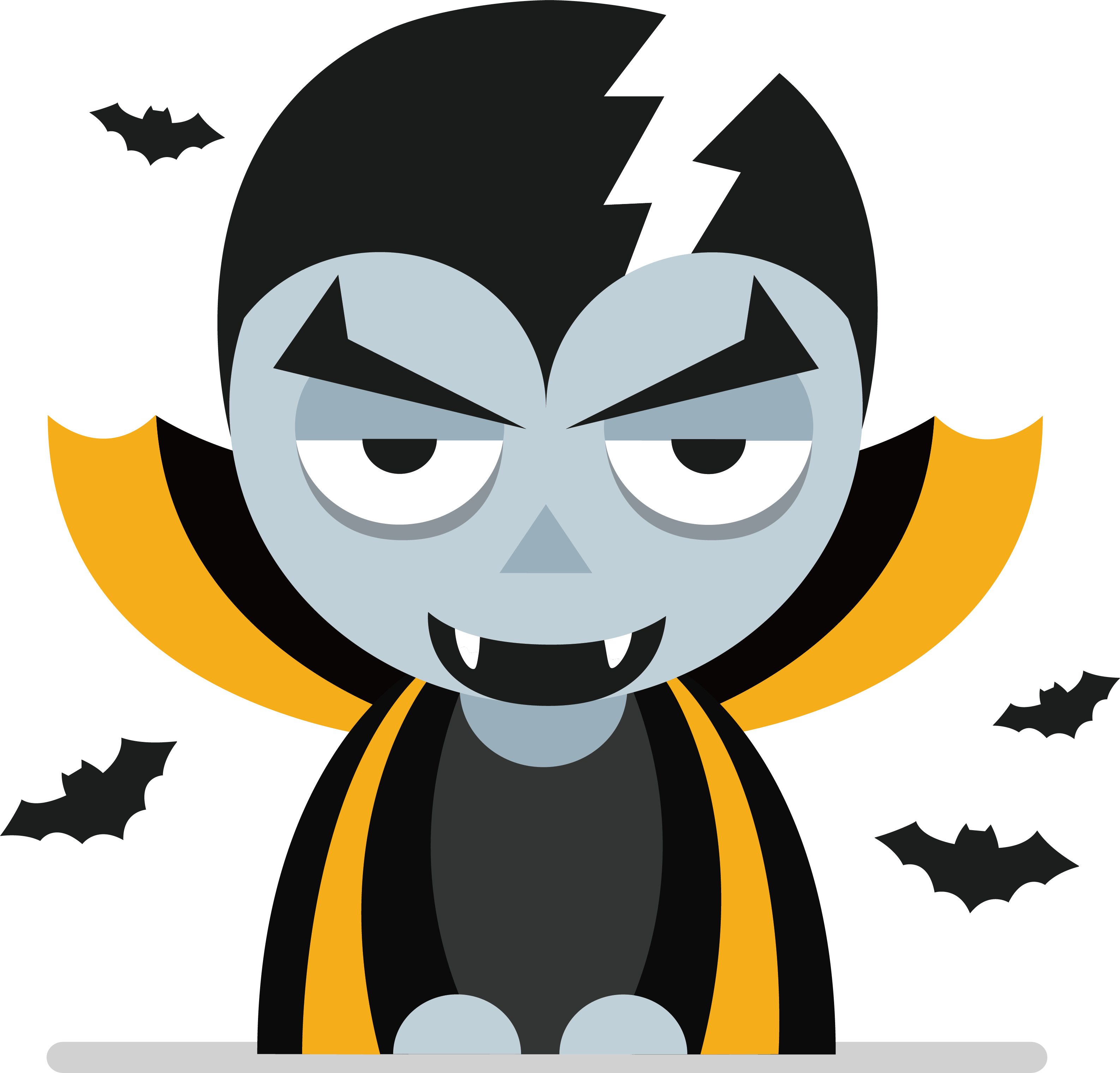 Animation clip art free download clip art black and white stock Vampire Animation Clip art - Bat Vampire 3173*3040 transprent Png ... clip art black and white stock
