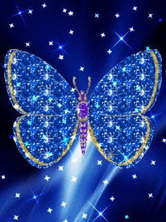 animated butterfly gif | Blue butterfly download Free Animations ... vector royalty free download