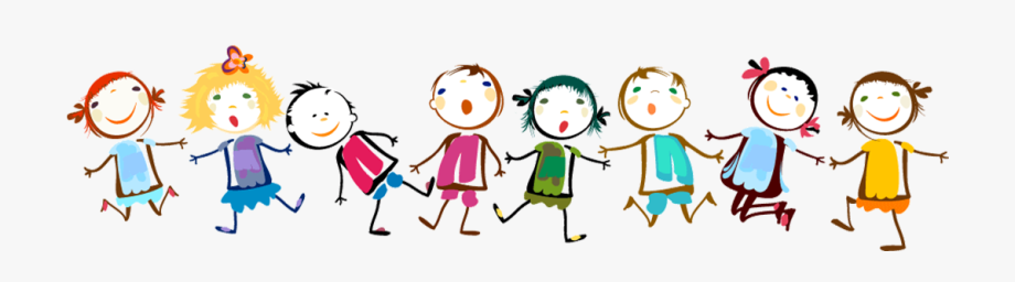 Paper child clip art. Free clipart children holding hands