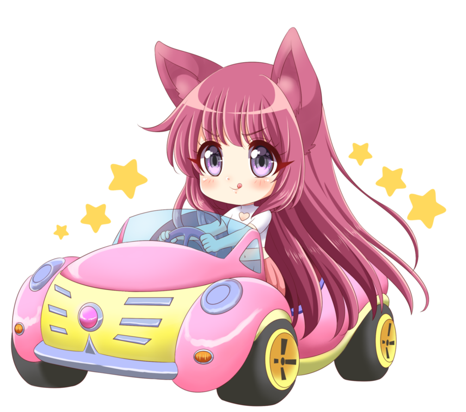 Anime car clipart png royalty free stock Chibi car(commission) by KARIS-coba on DeviantArt png royalty free stock