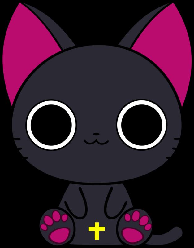 Anime cat clipart image black and white library Kawaii my: Paciencia y una dosis de manga y anime | idea | Pinterest ... image black and white library