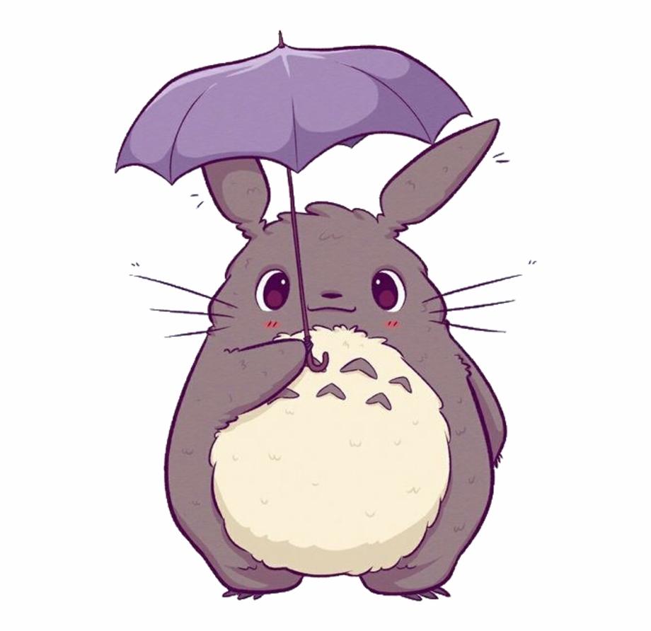 Anime clipart animals graphic free Totoro Anime Cute Kawaii Freetoedit - Anime Cute Kawaii Animals Free ... graphic free