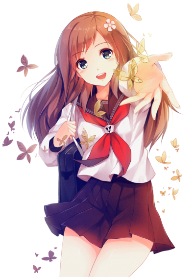Anime clipart girl png clip art library download Download ANIME GIRL Free PNG transparent image and clipart clip art library download