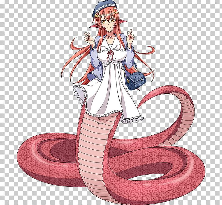 Anime clipart to real life banner library Monster Musume: Everyday Life With Monster Girls Online Lamia Anime ... banner library