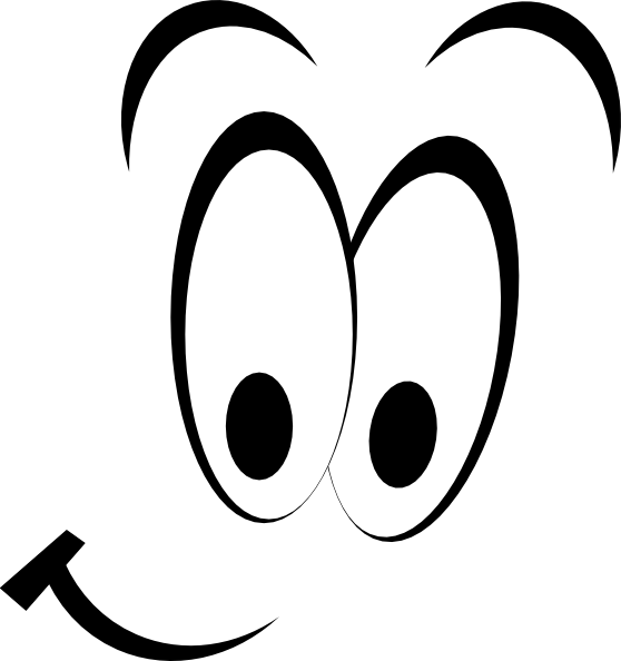 Anime eyes and mouth clipart black and white library Cartoon Eyes And Mouth | Free download best Cartoon Eyes And Mouth ... black and white library