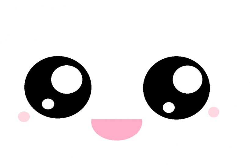 Anime eyes with symbols clipart banner royalty free Kawaii eyes clipart face | cricut in 2019 | Kawaii faces, Cute eyes ... banner royalty free