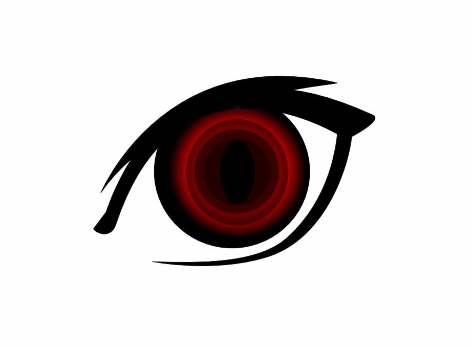 Anime eyes with symbols clipart freeuse Vector Eyeball Bloodshot Eye - Anime Eyes Red Png - googly eyes png ... freeuse