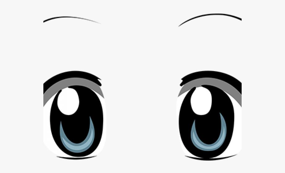 Anime eyes with symbols clipart royalty free download Donkey Clipart Eye - Anime Eyes Transparent Background , Transparent ... royalty free download