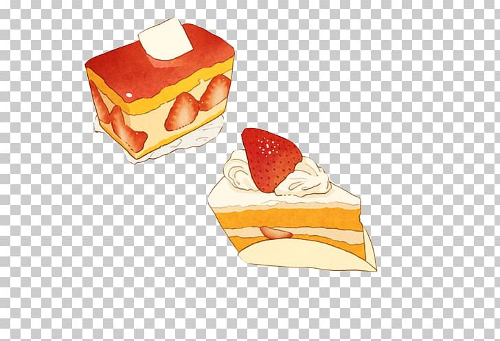 Anime food clipart image library library Strawberry Pie Food Anime Cake Illustration PNG, Clipart, Art, Bread ... image library library