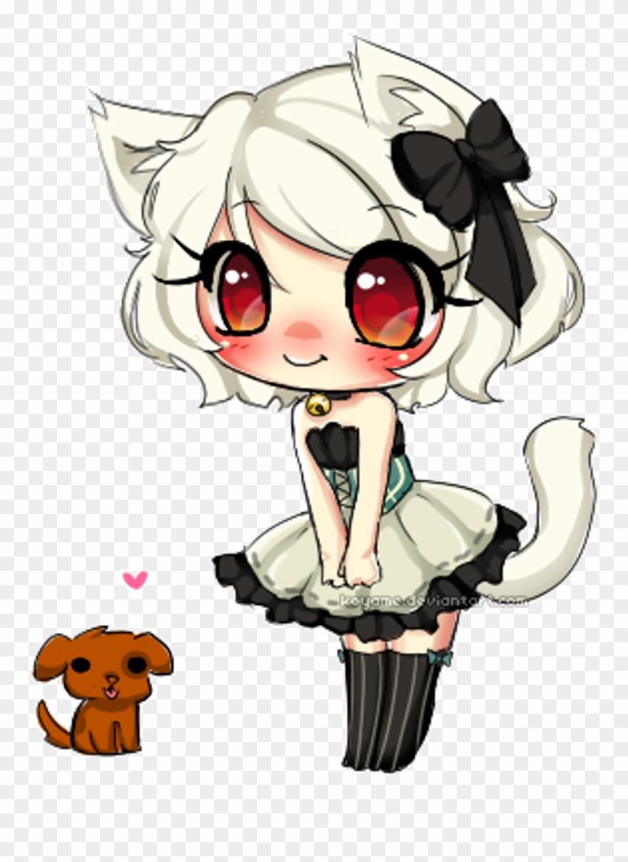 Anime girl neko clipart library Kawaii Maid Cat Neko Anime Animegirl Animeneko Puppy - Imagens De ... library