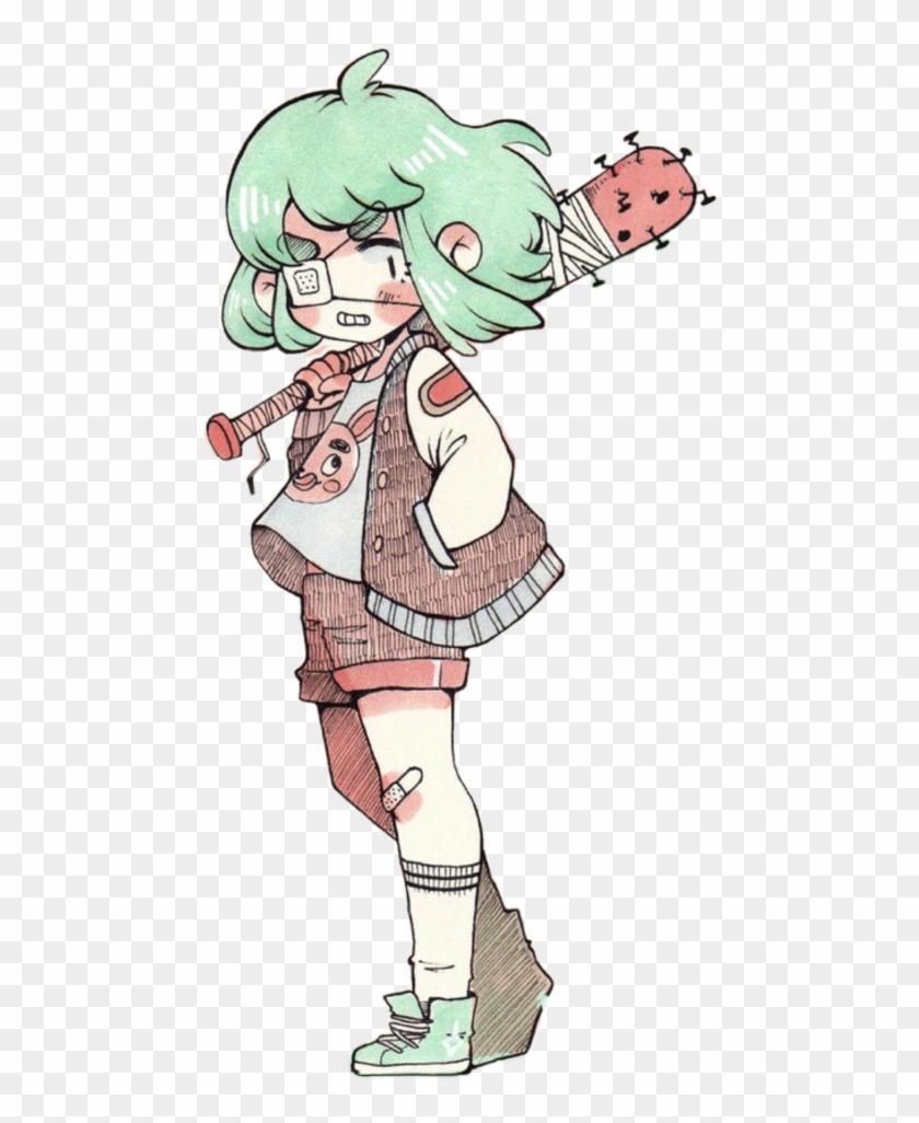Anime girl tumblr clipart image download girl #tumblr #draw #punk #grunge #manga #anime #bunny - Nemupan, HD ... image download