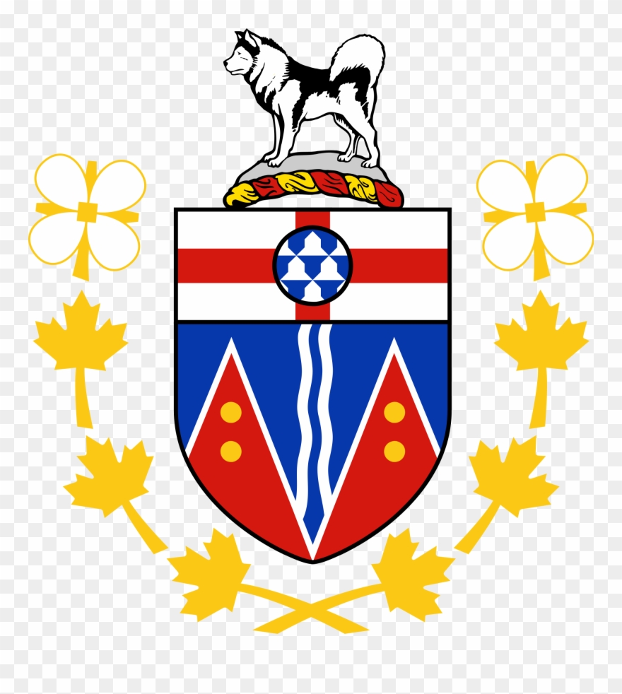 Animoto clipart vector transparent download Coat Of Arms Flag For Yukon Canada Clipart (#1175770) - PinClipart vector transparent download
