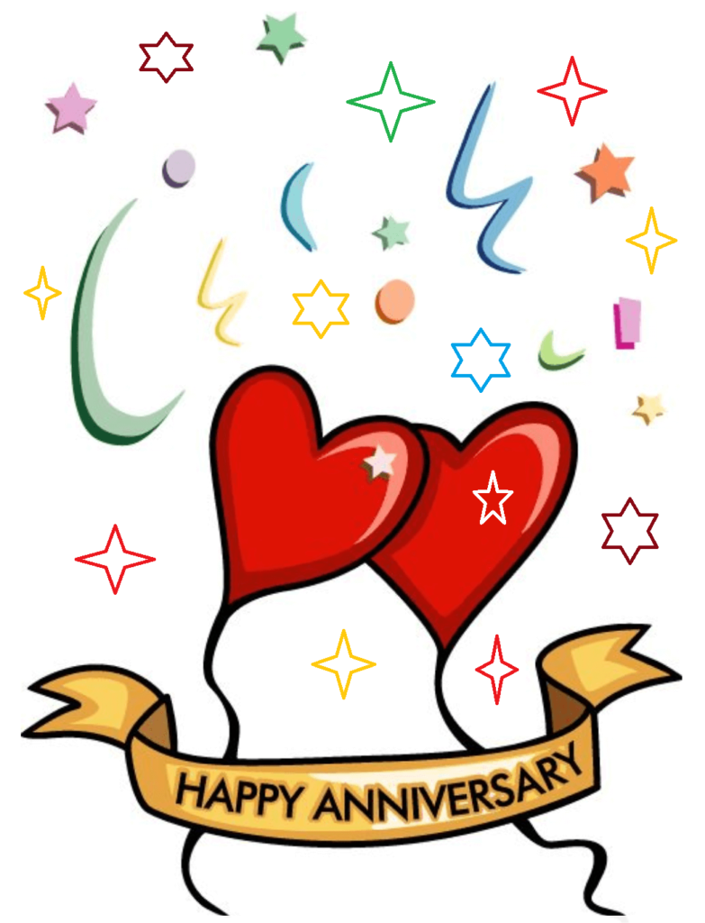 Free clipart anniversary celebration png black and white stock Happy Marriage Anniversary Clipart Wishes - Quote Hil png black and white stock