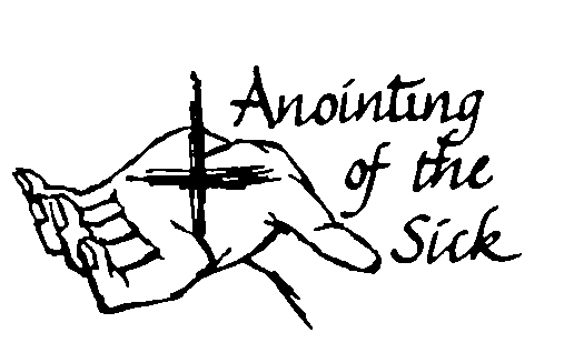 Anionting clipart banner black and white stock Anointing of the sick clipart 7 » Clipart Station banner black and white stock