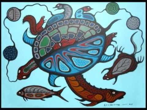 Anishinaabe creation story clipart clip black and white download Anishinaabek Turtle song - YouTube clip black and white download
