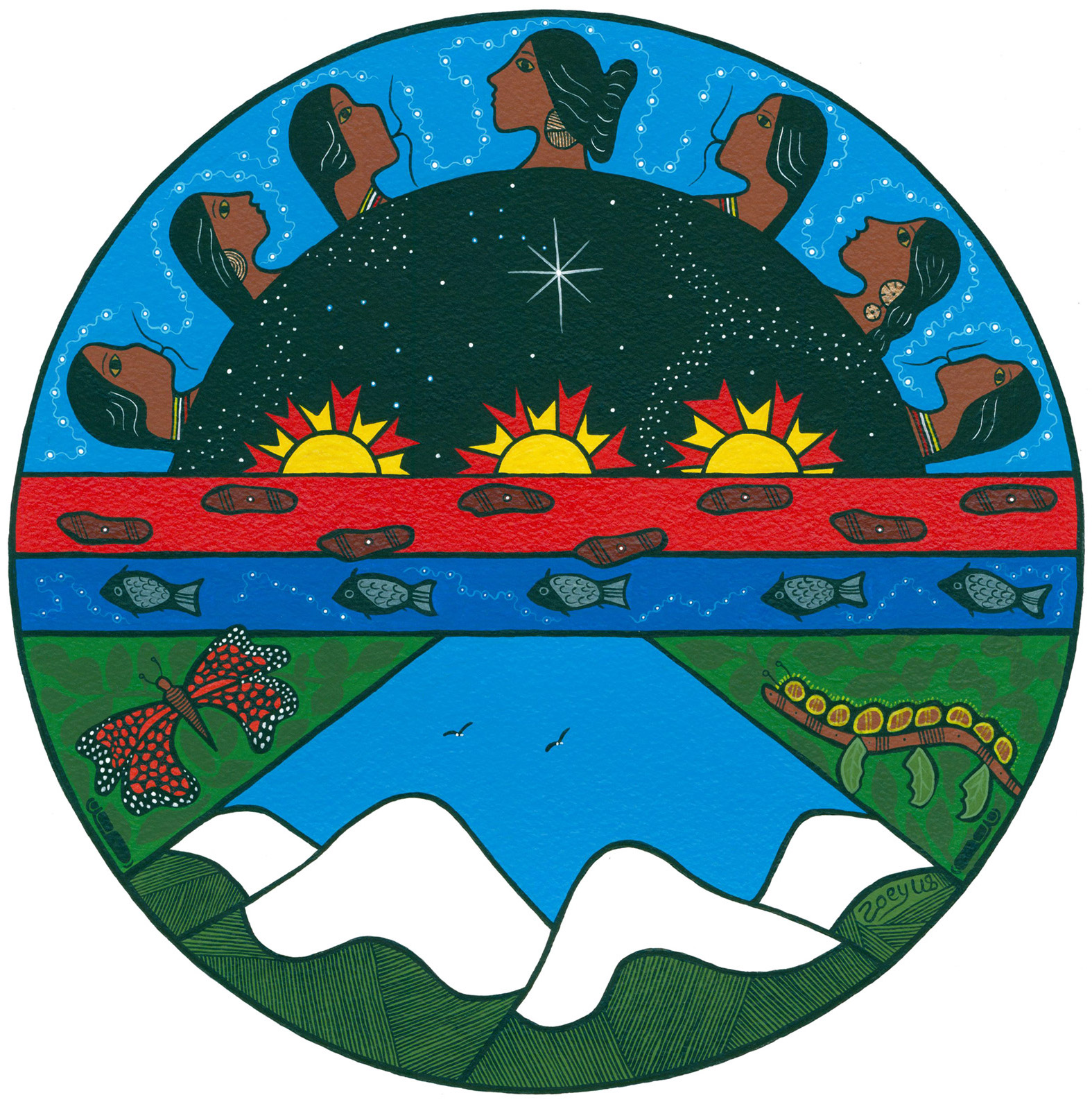 Anishinaabe creation story clipart royalty free The Gifts of the Seven Grandfathers - Ojibwe.net Ojibwe.net royalty free