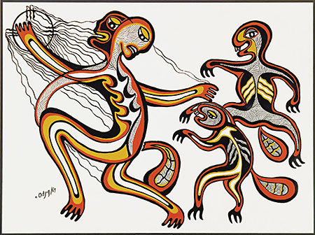 Anishinaabe creation story clipart banner library library Synthesis of the Solutrean Hypothesis and the Ojibway Creation ... banner library library