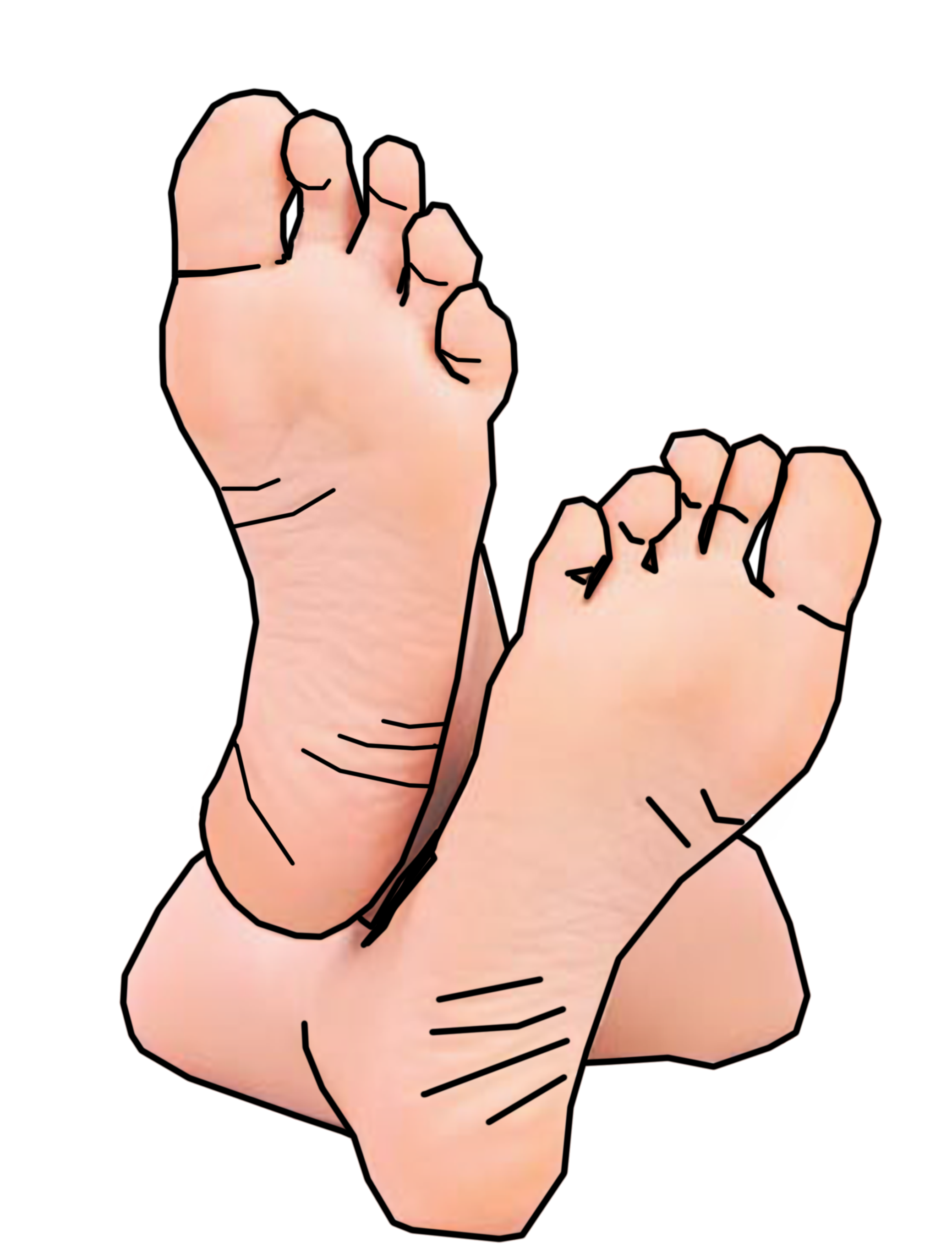 Ankles crossed clipart vector black and white stock Fingers Crossed Clipart   Free download best Fingers Crossed Clipart ... vector black and white stock