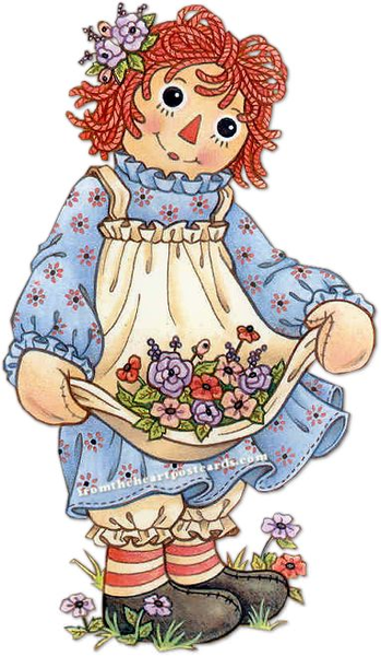 Ann clipart jpg library stock Raggedy Ann And Andy Clipart | Free Images at Clker.com - vector ... jpg library stock