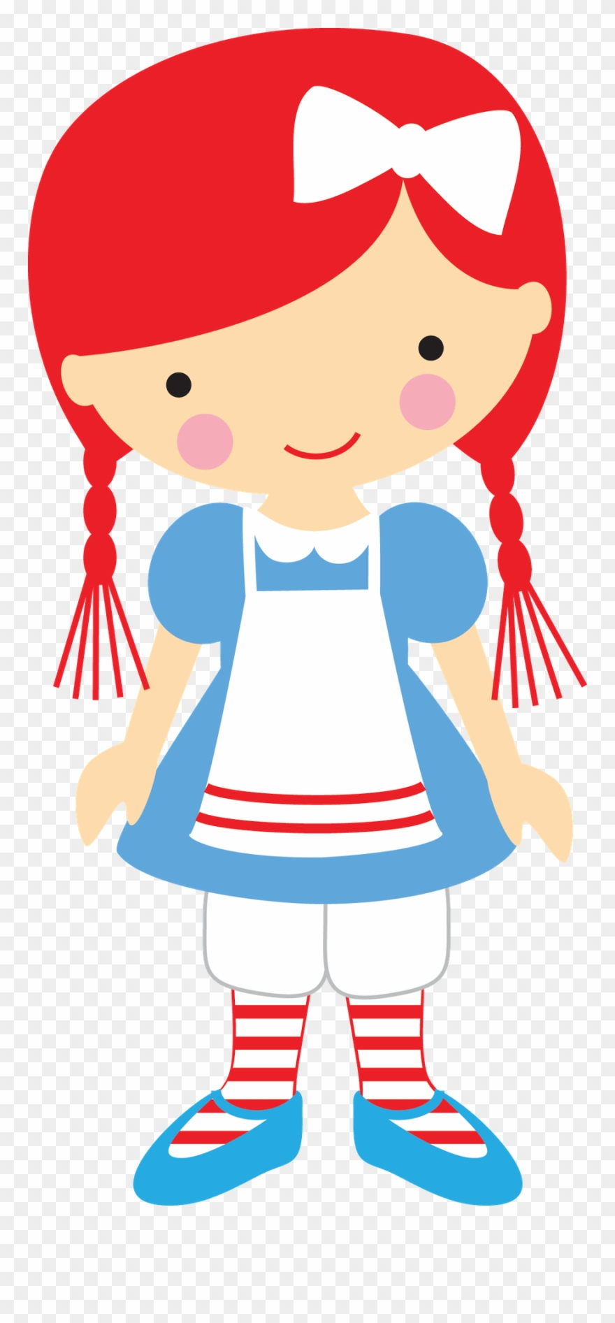 Ann clipart jpg library stock Girl Clipart, Cute Clipart, Raggedy Ann And Andy, - Storybook ... jpg library stock