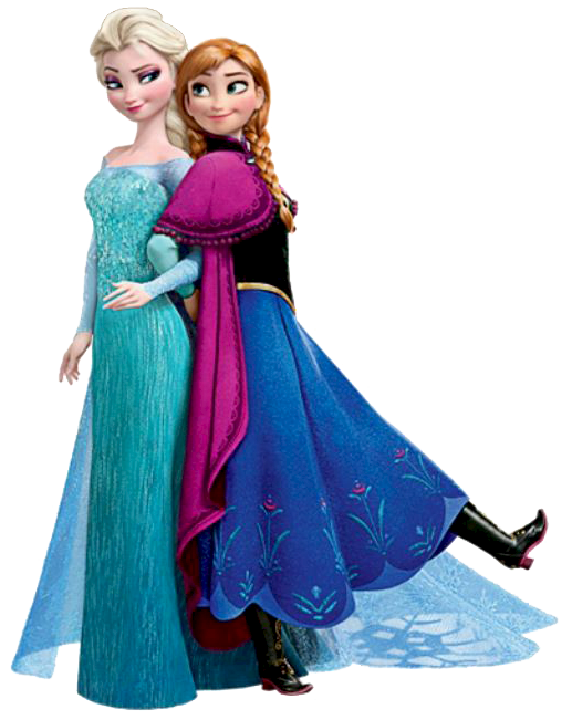 Frozen disney clipart picture transparent download Frozen: Ana and Elsa Clip Art. - Is it for PARTIES? Is it FREE? Is ... picture transparent download