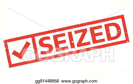 Annexed clipart clip art freeuse library EPS Illustration - Seized rubber stamp. Vector Clipart gg91448958 ... clip art freeuse library