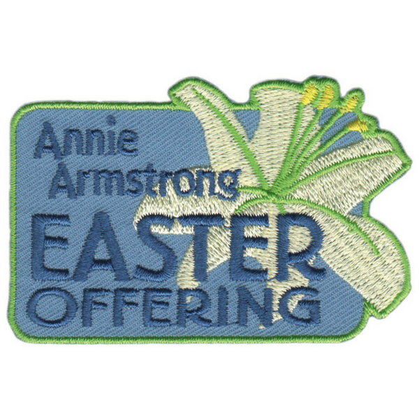 Annie armstrong offering clipart jpg black and white stock Annie Armstrong Easter Offering Badge/Patch | WMU Store jpg black and white stock
