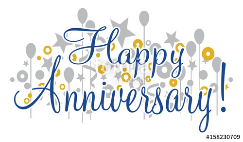 Anniversary banner clipart free png stock Happy Anniversary Banner is a design that would be great for any ... png stock