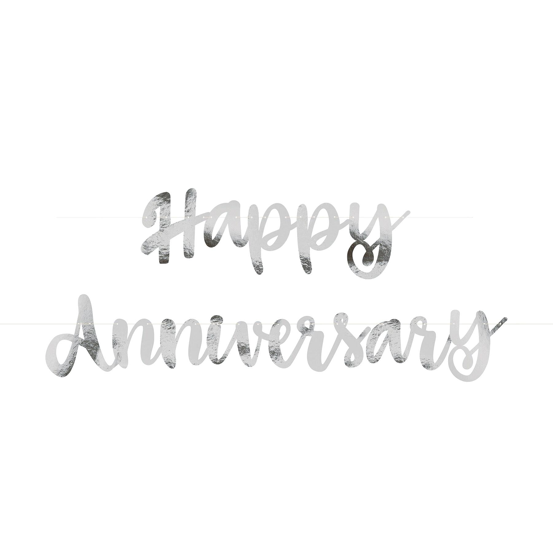 Anniversary banner clipart free clipart black and white stock happy anniversary banner – ninety-four.co clipart black and white stock