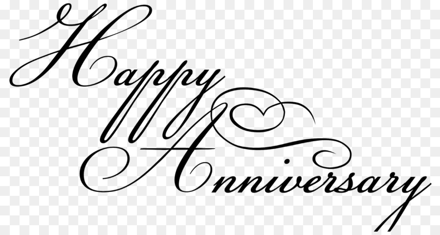 Anniversary calligraphy clipart clipart royalty free download Love Black And White clipart - Birthday, Love, transparent clip art clipart royalty free download