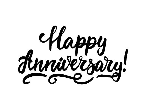 Anniversary calligraphy clipart clip library Anniversary clipart calligraphy, Anniversary calligraphy Transparent ... clip library