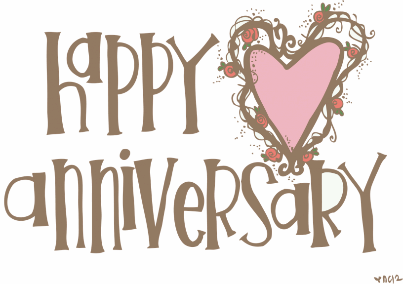 Happy anniversary logo clipart png black and white 15 Best Happy Anniversary Clipart png black and white