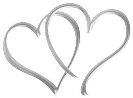 Anniversary hearts clipart jpg library download Interlocking Hearts | printables | Wedding etiquette, Wedding, Clip art jpg library download