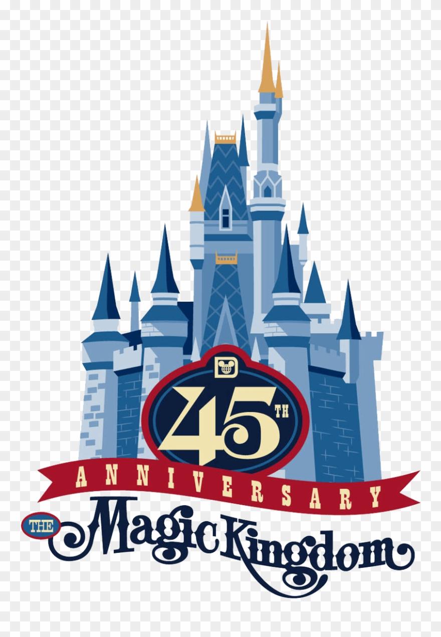 Anniversary magic clipart png stock Disney Magic Kingdom Logos Clipart - Png Download (#2296960 ... png stock