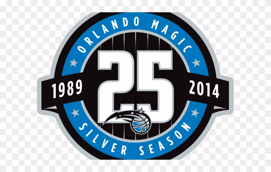 Anniversary magic clipart clip freeuse Orlando Magic Clipart - Orlando Magic Anniversary Logo - Png ... clip freeuse