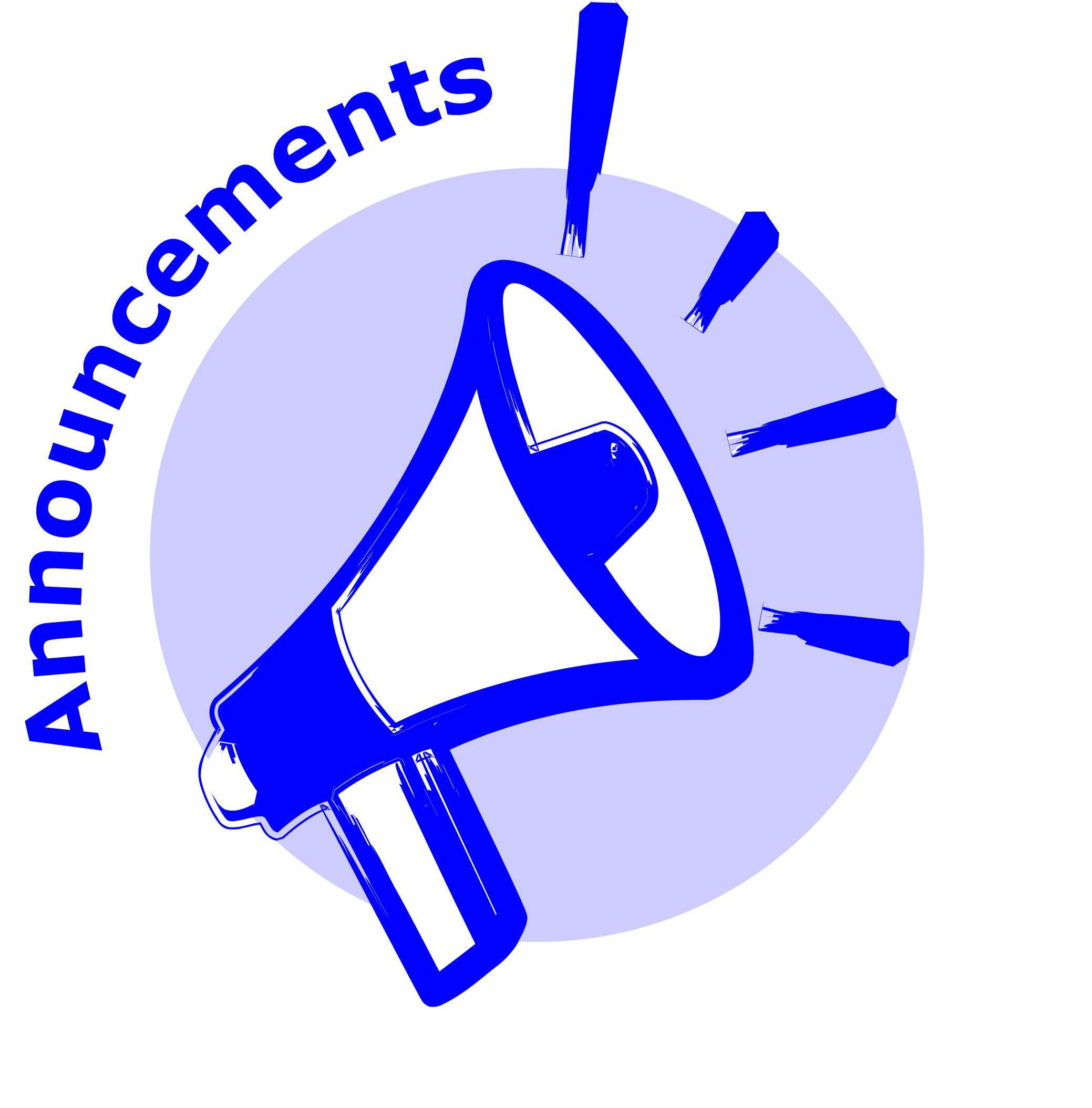Announcements clipart images clip freeuse library Free Announcements Cliparts, Download Free Clip Art, Free Clip Art ... clip freeuse library