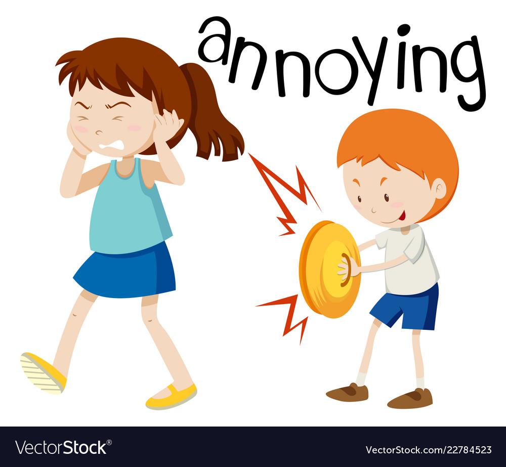 Annoying clipart jpg royalty free Young boy annoying girl jpg royalty free
