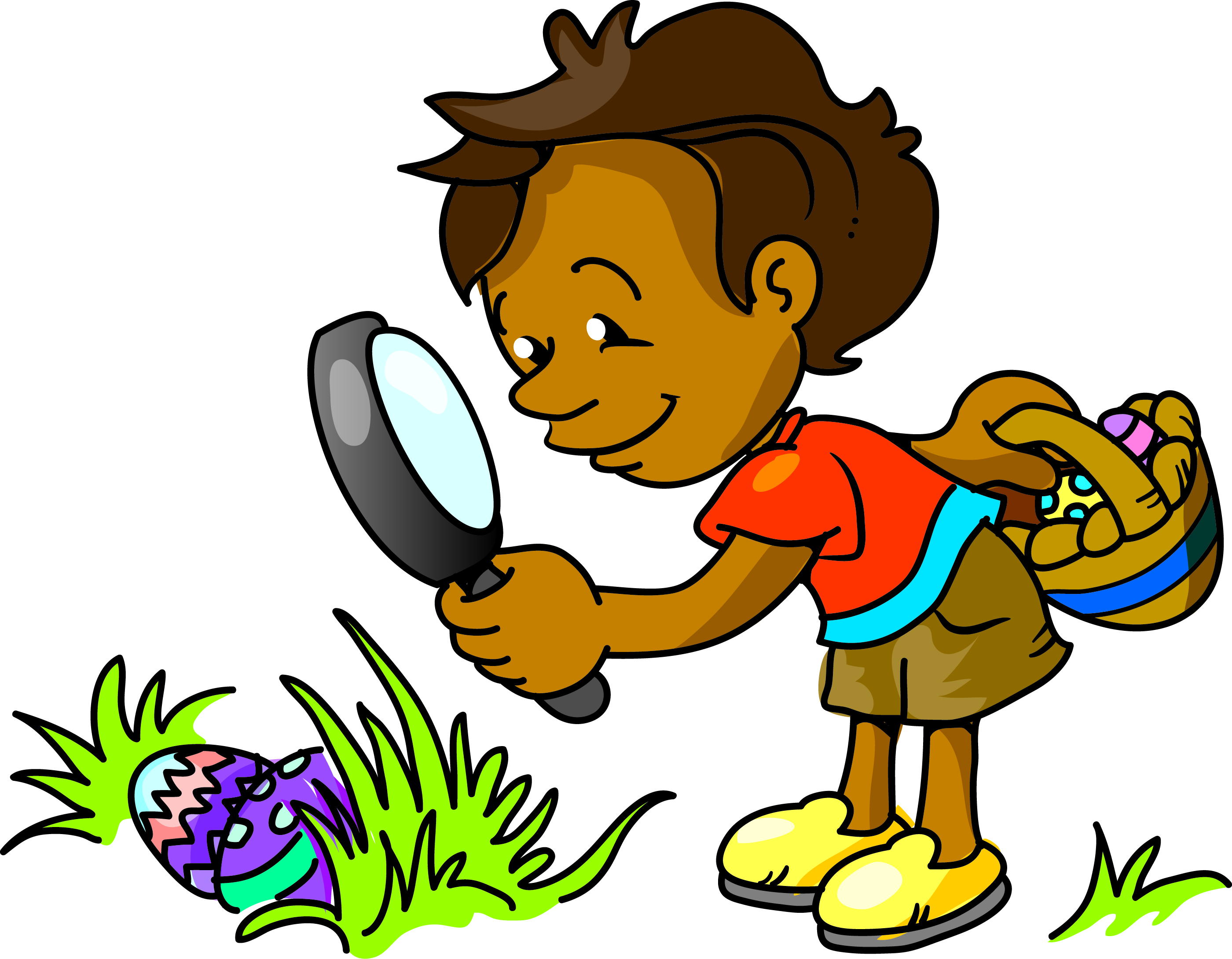 Annual easter egg hunt clipart graphic black and white library Google free clipart easter egg hunt - ClipartFest graphic black and white library