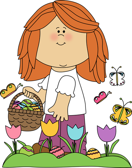 Annual easter egg hunt clipart svg library download Girl on Easter Egg Hunt Clip Art - Girl on Easter Egg Hunt Image svg library download