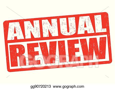 Annual review clipart clipart library Vector Clipart - Annual review sign or stamp. Vector Illustration ... clipart library